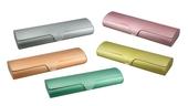 Aluminiové pouzdro s matným povrchem MENŠÍ model AL033 - zelená