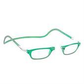 čtecí brýle CLIC na magnet na nosníku zelené - +1.0 dpt