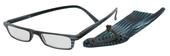 Čtecí brýle ECONOMY HIP s pouzdýrkem model 983 - ČERNOMODRÉ - +1.5 dpt