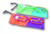 Dvoubarevné čtecí brýle FANCY CRAZY s pouzdýrkem