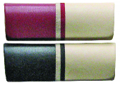 klasické dvoubarevné pouzdro na brýle model Z5032 - fialová