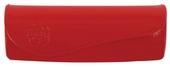 luxusní dámské pouzdro lakované, model Z5087 - červená