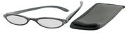 Čtecí brýle ECONOMY s pouzdýrkem model 971 - ŠEDÉ  s kamínky