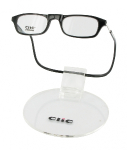čtecí brýle CLIC na magnet na nosníku černé
