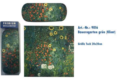pouzdro ART9016 s utěrkou, Klimt - Zelená zahrádka