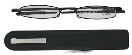 čtecí brýle i-MAG MINI BLACK