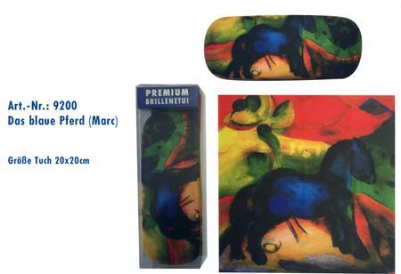 pouzdro ART9200 s utěrkou, Chagall - Modrý kůň