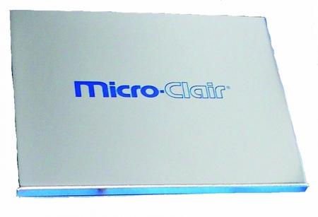 kapesní kovové zrcátko MicroClair
