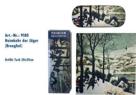 pouzdro ART9180 s utěrkou, Breughel - Návrat lovců
