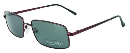 Sluneční brýle MORANI SUN model 107 - C4 vínová