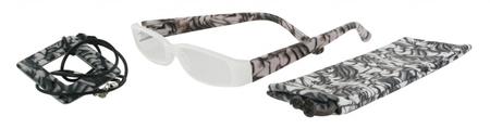 Čtecí brýle FANCY s přívěskem a pouzdýrkem