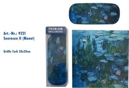 pouzdro ART9221 s utěrkou, Monet - Lekníny II