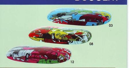 Dětské pouzdro na brýle s obrázky, model D827 KIDDY CAR