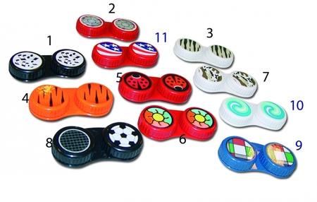 plastové pouzdro na kontaktní čočky T2440