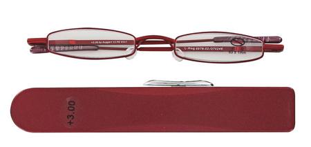 čtecí brýle i-MAG MINI RED