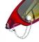šperk na brýle Crossfor STŘÍBRO 925ST + bižuterie Preciosa, barva ČIRÁ