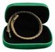 zelená krabička na šperky a jiné drobnosti
