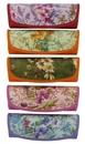 univerzální pouzdro MENŠÍ, model Z5020 kombinované, květinový motiv - fialová