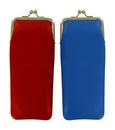 vertikání měkké kožené pouzdro, model T3700 - červená